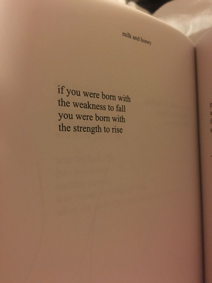 Because Milk and Honey is raw and brilliant. Rupi Kaur is a gem.