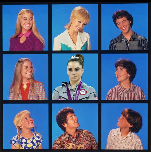 McKayla is NOT impressed with the new Brady Bunch.