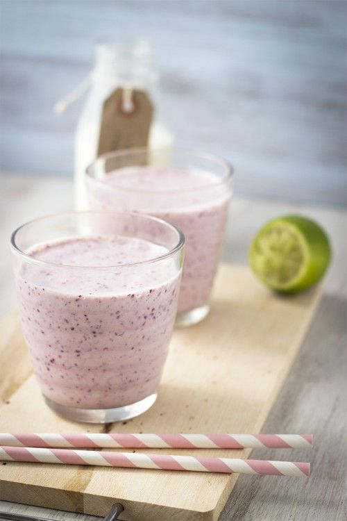 ~ Blueberry and lime smoothie ~
