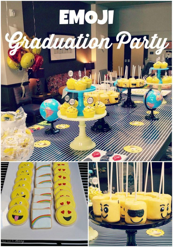 Fiesta Friday/Real Party - Emoji Graduation Party
