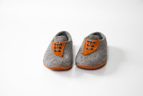 Handmade wool shoes natural and cozy men women by BureBureSlippers