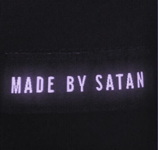 black, grunge, and satan image