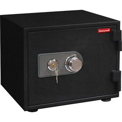 """Honeywell Model 2112 Digital Fire Safe 0.57 cubic feel by Honeywell. $237.86. From the Manufacturer                Honeywell Model 2112 Fire Safe. This all steel fire safe has a programmable digital keypad which allows users to program a personal 3 to 8 digit pass code. Has a lighted LED control panel which displays the date and time. Safe allows for two separarte users, each with their own pass code. The primary user of the safe can retrieve """"user access"""" his..."""