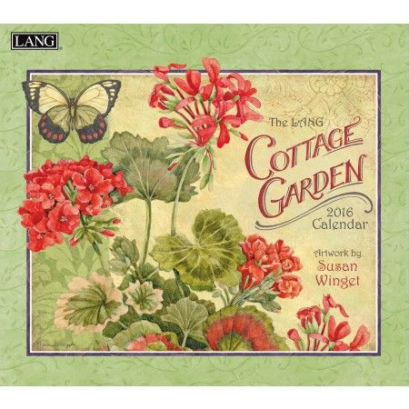 72 best images about 2016 wall calendars by lang on for Gardening 2016 calendar