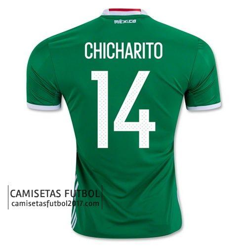 Primera camiseta CHICHARITO de Mexico Copa América 2016 21,9€