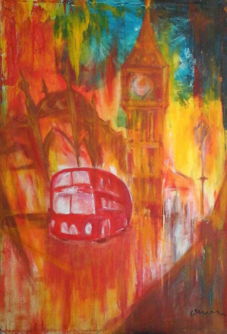 London Colours - Contemporary Art Painting - Florin Coman
