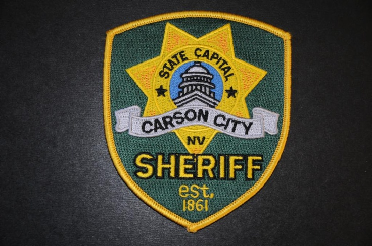 Carson City Sheriff Patch, Nevada Current Issue