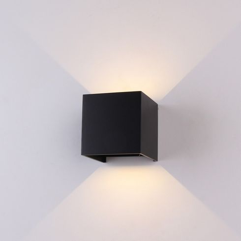 Lucretia lighting tailored designer lighting solutions lucretia lighting a310 square outdoor led wall sconces ip65