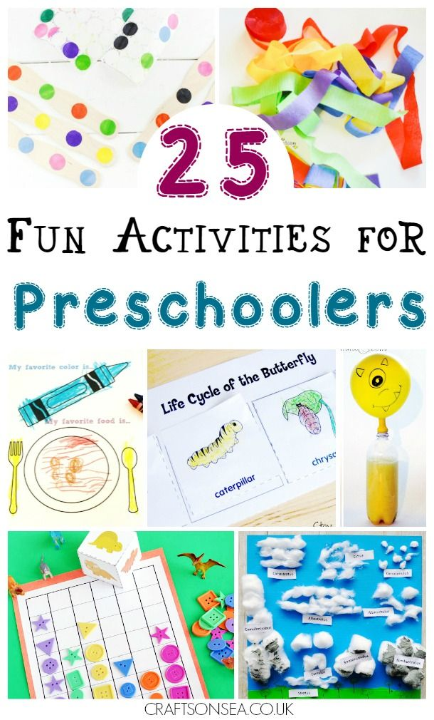 Fun activities for preschoolers that you'll want to try today! Boredom busting ideas and educational inspiration including crafts, cutting boxes, science experiments and maths activities #preschool #preschoolactivities #eyfs #kidsactivities