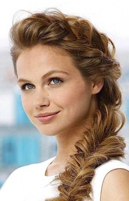 9. Frisuren mit Zöpfen für langes Haar