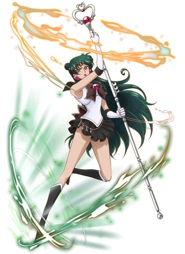 I wad just thinking the other day about how Plutos not really a planet now an all that b.s an i think poor Sailor Pluto
