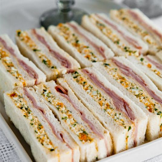 HAM AND EGG SANDWICHES