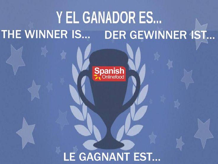 La ganadora del sorteo es... The winner is... Der gewinner ist... Le gagnant est... ****** Maria Paredes ****** Enhorabuena a la ganadora. Muchas gracias a tod@s por vuestra participación, os esperamos en próximos sorteos y promociones. No olvidéis visitarnos en www.spanishonlinefood.com  Congratulations to the winner. Do not forget to visit our website. Vergessen Sie nicht, unsere Website zu besuchen. N'oubliez pas de visiter notre site Web. https://apps.facebook.com/easypromos…