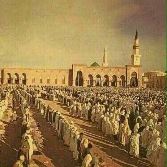 An old picture of #Medina