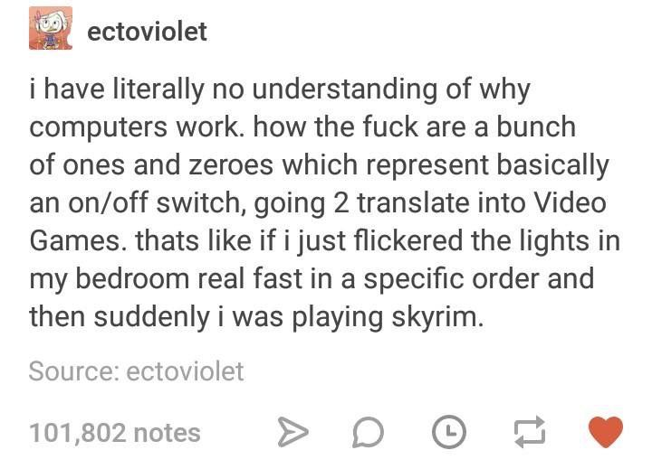honestly<< yes. Yes you will. If you click the lights in a specific order fast enough you'll be playing Skyrim
