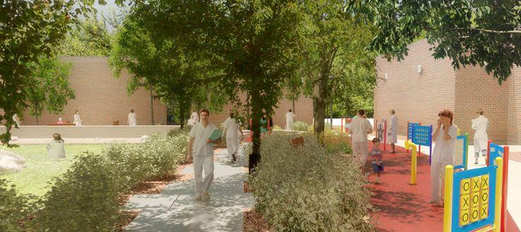 Windsor Regional Hospital - Healing Garden