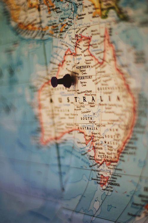 Australie - 'On The Map' - Australia Ailleurs communication, www.ailleurscommunication.fr  Jeux-concours, voyages, trade marketing, publicité, buzz, dotations