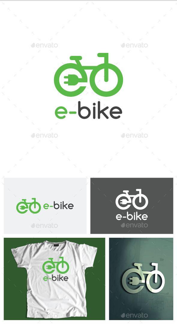 Electric Bike Logo Template #design #logotype Download: http://graphicriver.net/item/electric-bike-logo/13268871?ref=ksioks