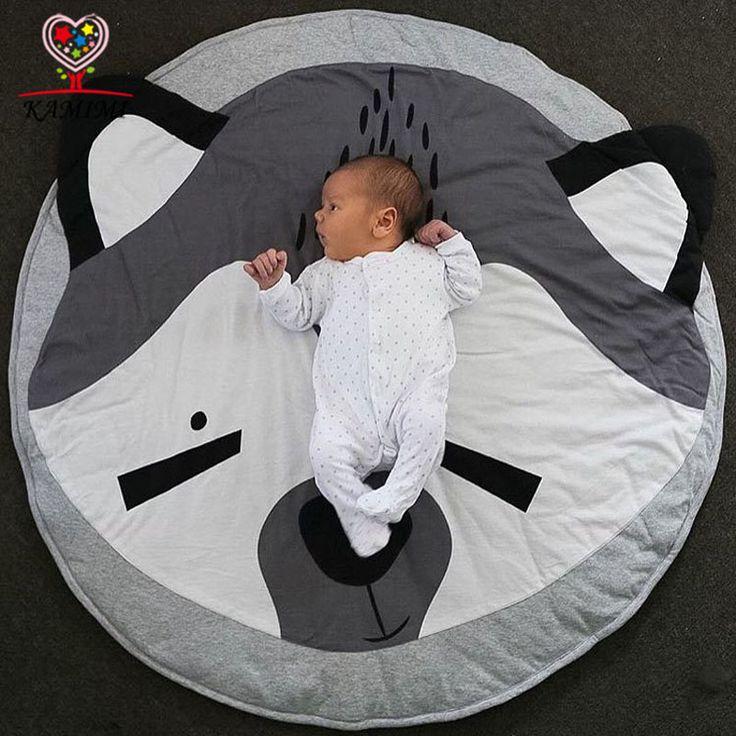 Manta de bebé 2017 nueva estera del juego del oso de Koala impresión KAMIMI del niño recién nacido suaves estera para dormir de algodón suave bebé escalada alfombra A816