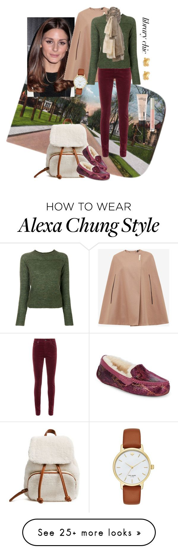 """Pants: Olive, Burgundy, Cream"" by henleysc on Polyvore featuring Rachel Zoe, Forever 21, Ted Baker, AG Adriano Goldschmied, Étoile Isabel Marant, UGG, Sylvia Alexander, Ilia, philosophy and Kate Spade"
