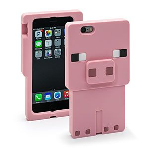 Minecraft Pig Character Case | ThinkGeek