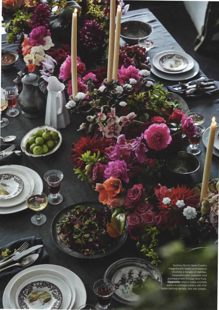 Superb table decoration // Изключителна декорация за маса (79 Ideas)