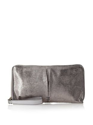 69% OFF 49 Square Miles Women's Bestie Clutch Lizard, Pewter