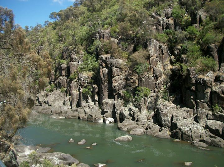 Photo of Cataract Gorge, Tasmania, this a 10 minute walk from the heart of the cite