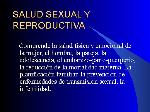 Salud ontario salud sexual