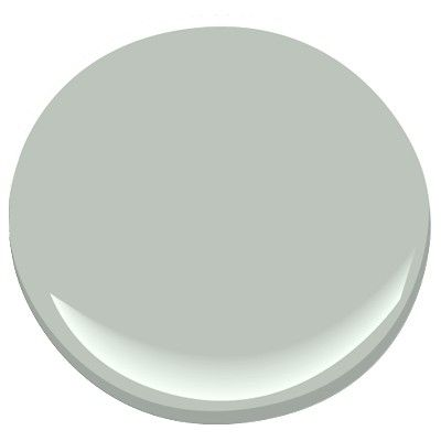 Hot Paint Pick: Benjamin Moore Tranquility AF-490. It's a blue green gray, which looks great in a living room, master bedroom, master bathroom, etc.