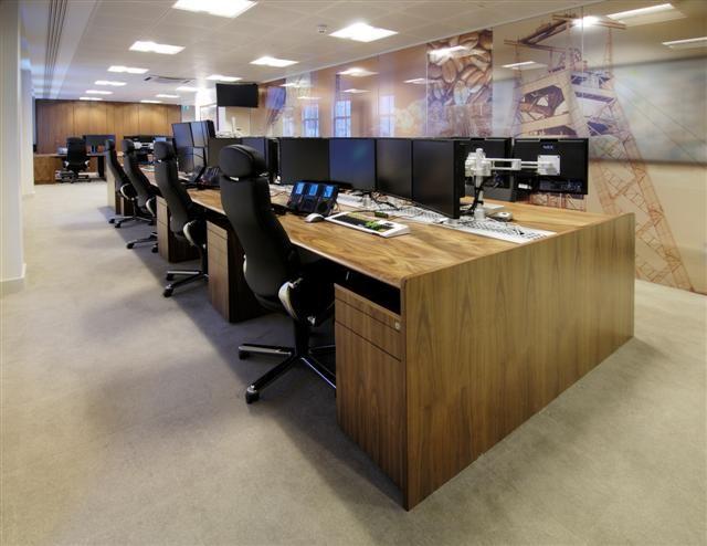 DRC group - Dealing Room #design #interiordesign #fitout #dealingdesks