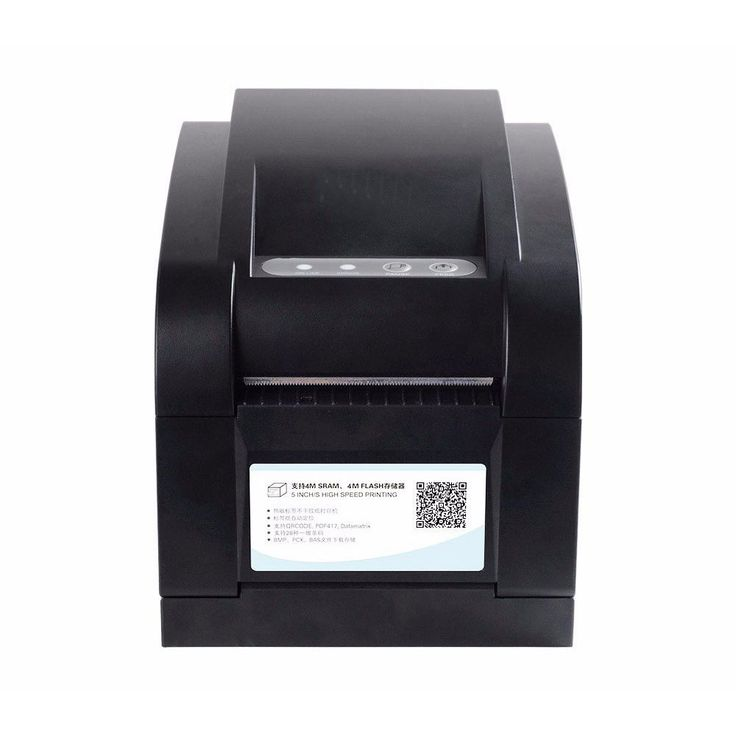 High quality Thermal without carbon belt Barcode label printer Sticker printer Thermal printer Can print qr. Click visit to buy #Printer