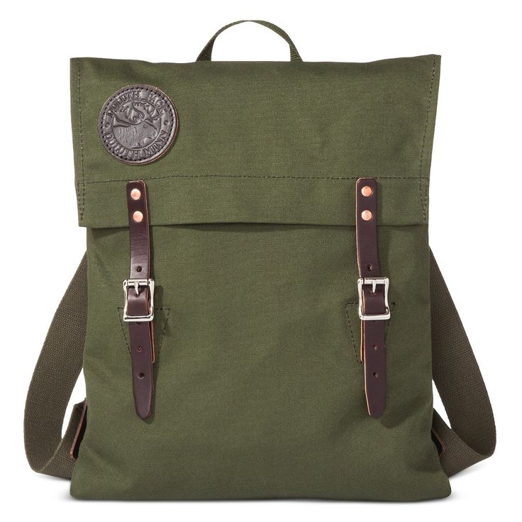 Duluth Pack Scout Pack Army - Green One Size