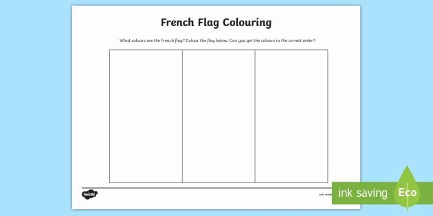 French Flag Coloring Page In 2020 French Flag Flag Coloring Pages