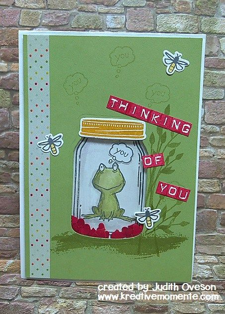 GDP#055 Love You Lots, Jar of Love, Labeler Alphabet, Stampin' Up!