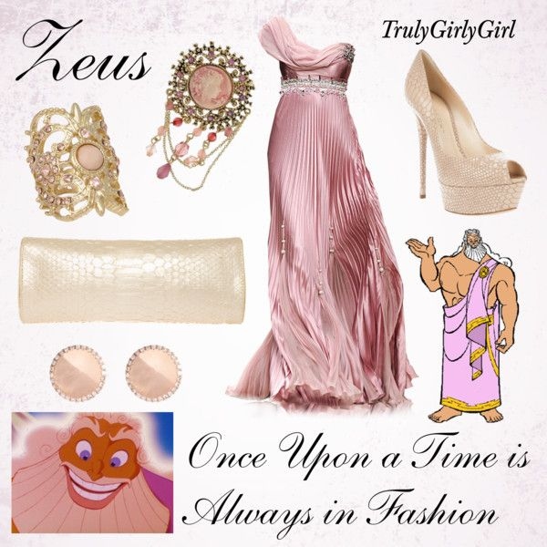 Disney Style: Zeus, created by trulygirlygirl on Polyvore
