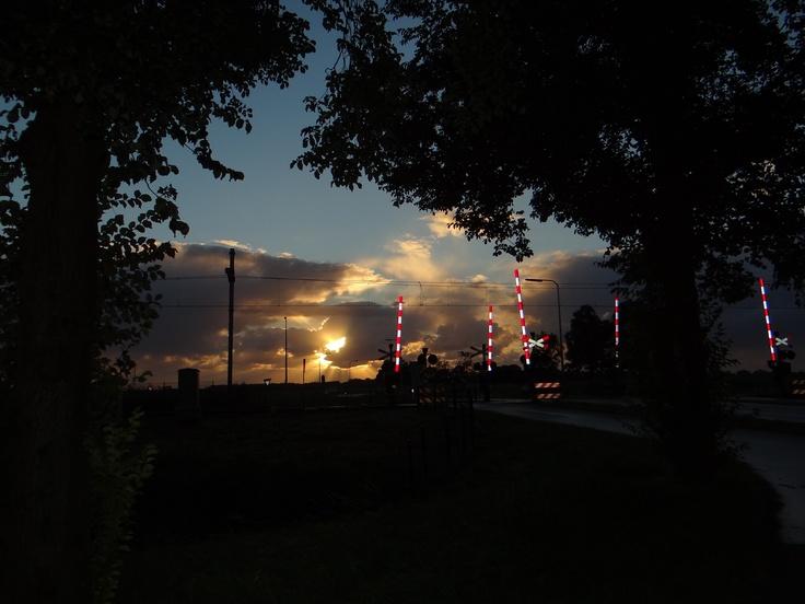 Sunset at Waddinxveen