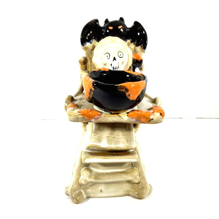 Yankee Candle Boney Bunch Boney Baby High Chair Tealight Candle Holder 2014 New #YankeeCandle
