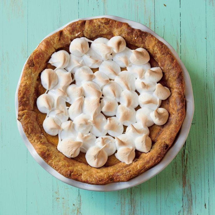 Pumpkin meringue pie - MyKitchen