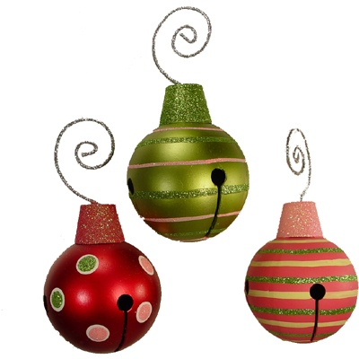 1000 images about metal ornaments on pinterest trees for Jingle bell christmas ornament crafts