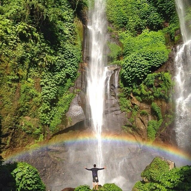 Heres another beauty #awesomeplaceinbali. This unforeseen shots taken by #baliislandphotog @ananta_kevin taken at Sekumpul Waterfall   ------------------------------------ #bali #baliisland #explorebali #jelajahbali #awesomeplace #awesomeplaces