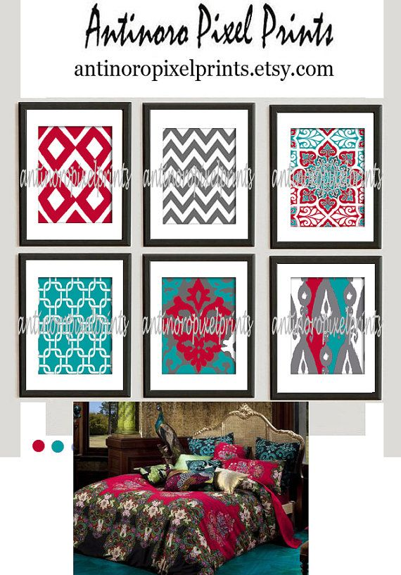 26 best images about grey aqua and coral red on pinterest for 420 room decor