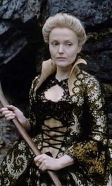 Miranda Richardson as Lady Van Tassel in Tim Burton's 'Sleepy Hollow' (1999). Costume Designer: Colleen Atwood