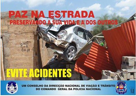 Benguela: Aumentam acidentes de viação nas estradas – Direcção Nacional de Viação e Trânsito
