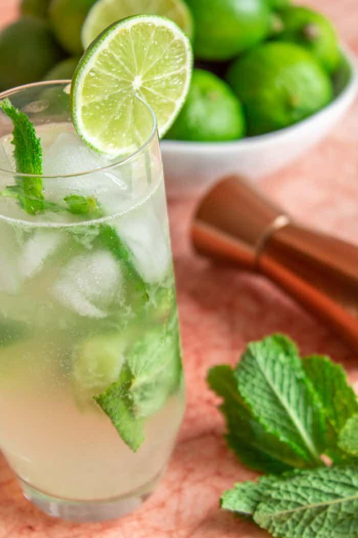 5 Minute Brazilian Mojito Recipe An Easy Summer Drink Recipe Cocktail Recipes Easy Winter Cocktails Recipes Easy Summer Drinks