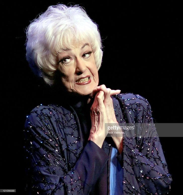 Bea Arthur during Comedy Central Roast of Pamela Anderson - Backstage, Green Room and Audience at Sony Pictures Studios in Culver City, California, United States. Description from gettyimages.com. I searched for this on bing.com/images