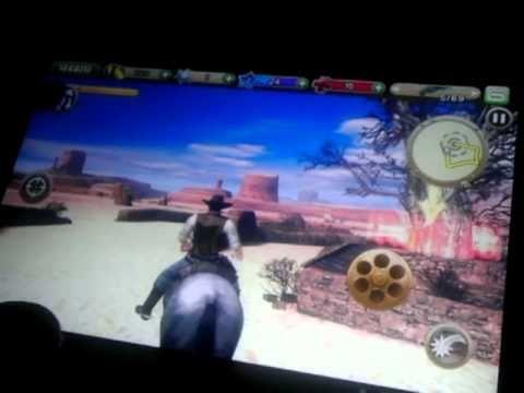 Six Guns (Gioco Gameloft) Android Game su Asus Transformer Tf101 con Ics...