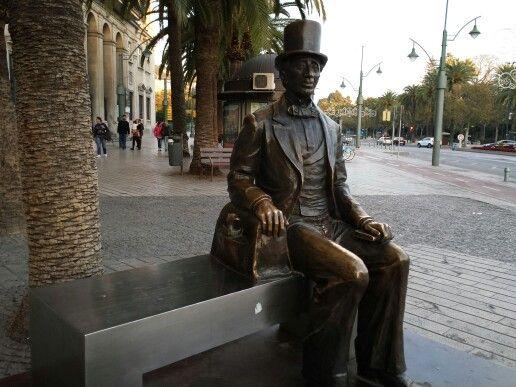 Hans Andersen, Málaga