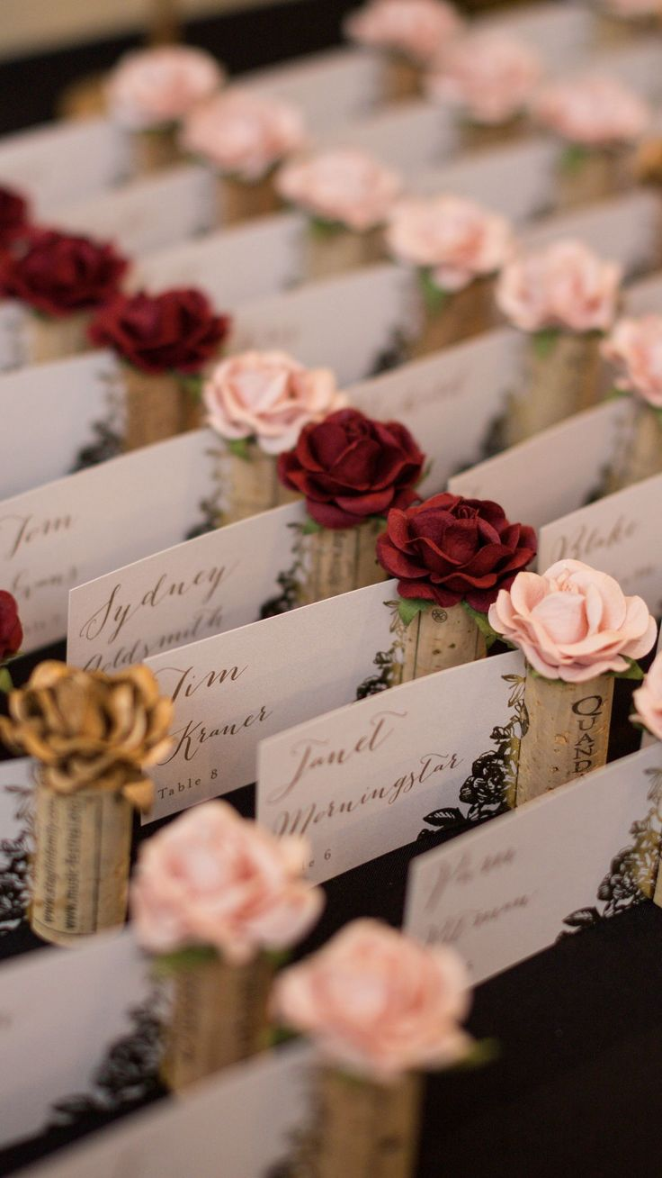 226 Best Your Wedding Place Card Table Images On Pinterest