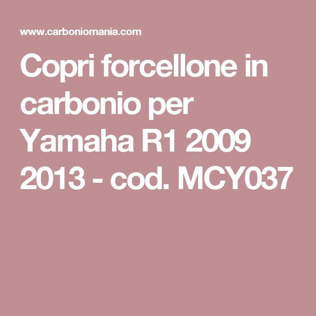 Copri forcellone in carbonio per Yamaha R1 2009 2013 - cod. MCY037